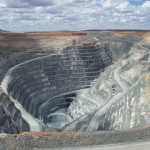 Gold mines, like the Sunrise Dam Mine in Australia, are running out.