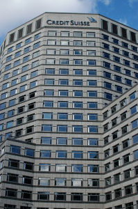 London Headquarters for financial giant Credit Suisse