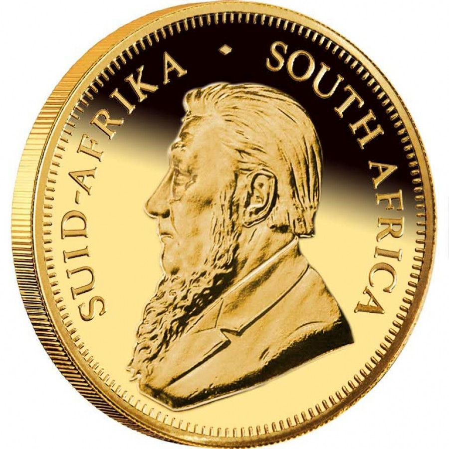 South African Krugerrand Gold coins
